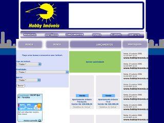 Thumbnail do site Hobby Imóveis