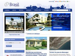 Thumbnail do site Imobiliária Brasil