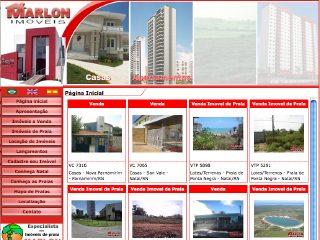 Thumbnail do site Marlon Imóveis