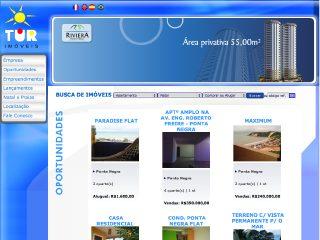 Thumbnail do site Tur Imóveis