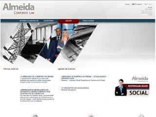 Thumbnail do site Almeida Advogados