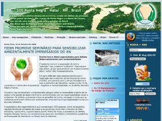 Thumbnail do site SOS Ponta Negra