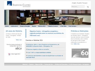 Thumbnail do site Siqueira Castro - Advogados