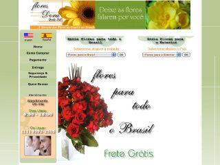 Thumbnail do site Floricultura Flores Dora
