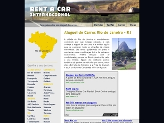 Thumbnail do site Rent a Car Internacional