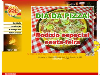 Thumbnail do site Only Pizza