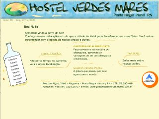 Thumbnail do site Hostel Verdes Mares