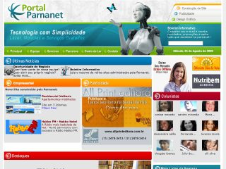 Thumbnail do site Portal Parnanet
