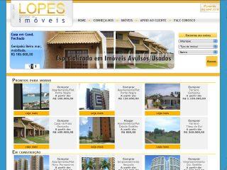 Thumbnail do site Lopes Imóveis