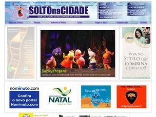 Thumbnail do site Solto na Cidade - guia cultural da cidade do Natal