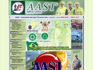Thumbnail do site AAST - Associados Serviços Técnicos Ltda.