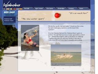 Thumbnail do site Waboba.com