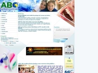 Thumbnail do site ABO/RN Associação Brasileira de Odontologia