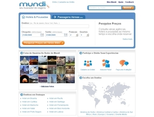 Thumbnail do site Mundi - Hotel Natal