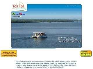 Thumbnail do site Passeios de barco no pôr-do-sol do Rio Potengi