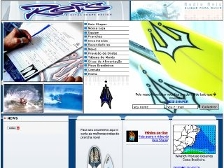 Thumbnail do site Pranchas Reis