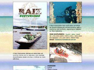 Thumbnail do site Raiz Ecoturismo