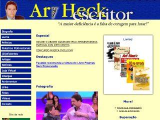 Thumbnail do site Escritor Ari Heck