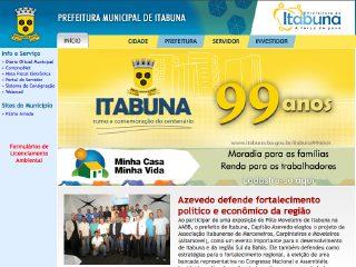 Thumbnail do site Prefeitura Municipal de Itabuna