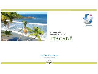 Thumbnail do site Prefeitura Municipal de Itacaré