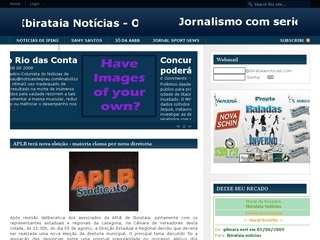 Thumbnail do site Blog Ibirataia