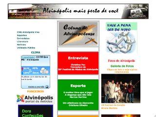 Thumbnail do site Alvinews.com.br