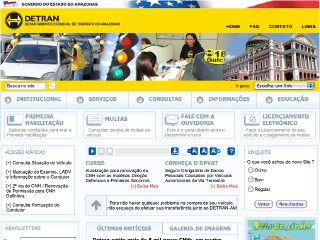 Thumbnail do site DETRAN - Amazonas