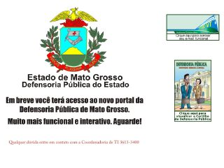 Thumbnail do site Defensoria Pública do Estado do Mato Grosso