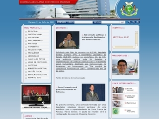 Thumbnail do site Assembleia Legislativa do Estado do Amazonas