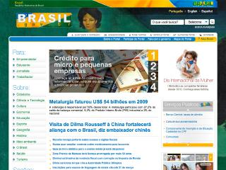 Thumbnail do site Rep�blica Federativa do Brasil