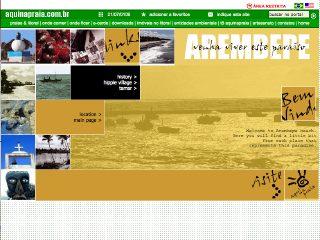 Thumbnail do site Arembepe - Venha viver este paraíso...