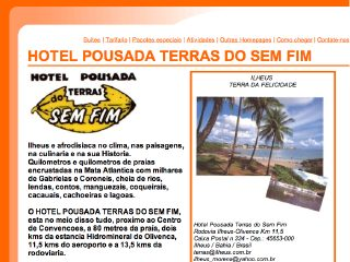 Thumbnail do site Hotel Pousada Terras do Sem Fim