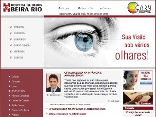 Thumbnail do site Hospital de Olhos Beira-Rio
