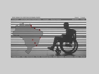 Thumbnail do site Rede SARAH de Hospitais de Rehabilitação