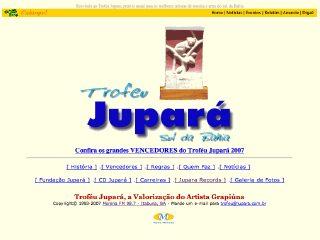 Thumbnail do site Trofeu Jupará Sul da Bahia
