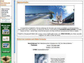 Thumbnail do site Zilda Imóveis