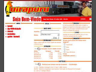 Thumbnail do site Uirapuru Shopping