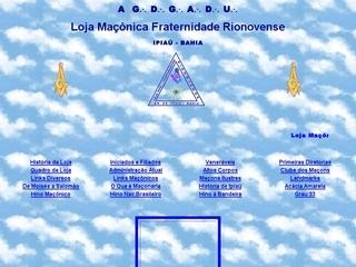 Thumbnail do site Loja Maçônica Fraternidade Rionovense