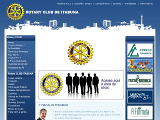Thumbnail do site Rotary Clube Itabuna