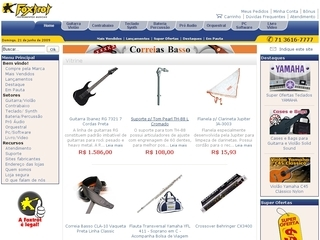 Thumbnail do site Foxtrot Instrumentos Musicais
