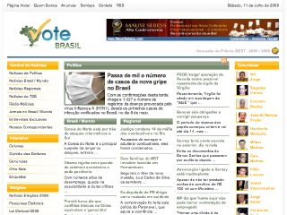 Thumbnail do site Vote Brasil