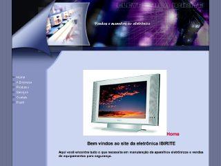 Thumbnail do site Ibirité Eletrônica