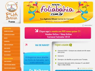 Thumbnail do site Foliabahia
