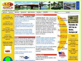 Thumbnail do site Morena FM 98.7